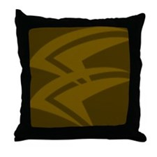 Polynesian print 1 Throw Pillow