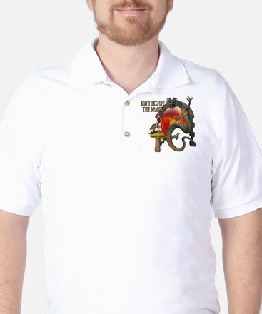 Angry Dragon Golf Shirt