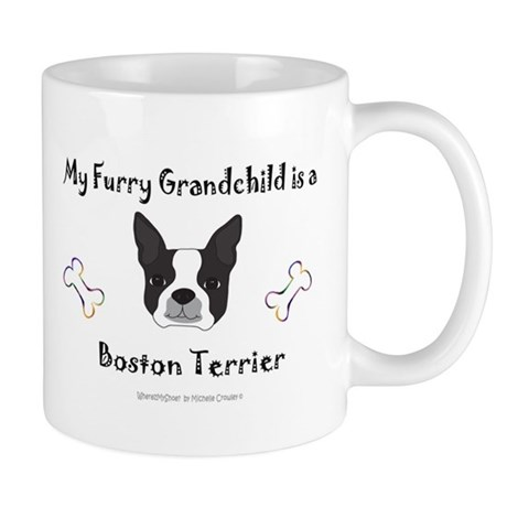 boston terrier gifts Mug