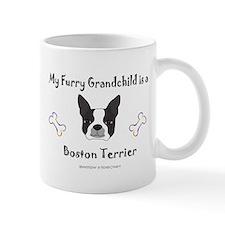 boston terrier gifts Small Mug