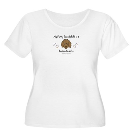labradoodle gifts Women's Plus Size Scoop Neck T-S