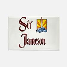 Sir Jameson Rectangle Magnet