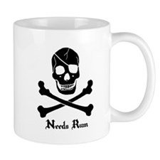 Needs Rum Coffee Mug