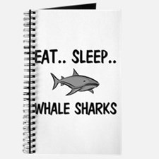 Eat ... Sleep ... WHALE SHARKS Journal