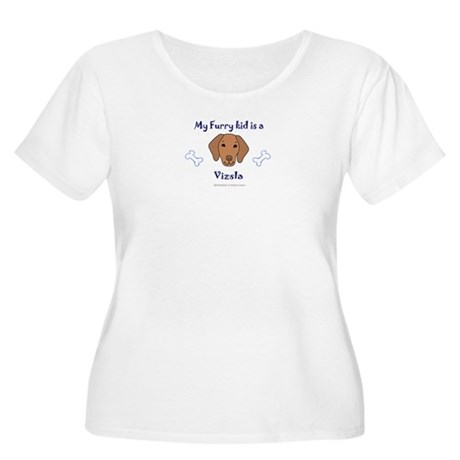 vizsla gifts Women's Plus Size Scoop Neck T-Shirt