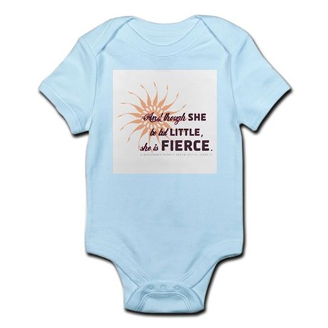 She is Fierce - Grunge Infant Bodysuit