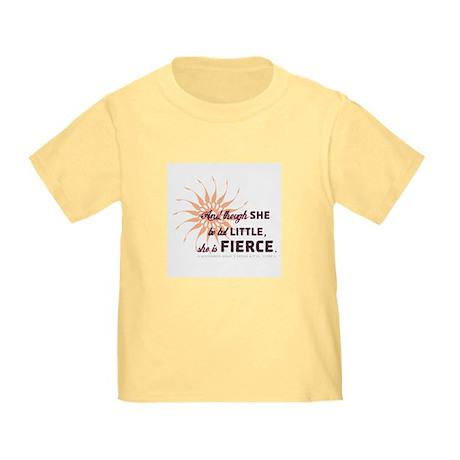 She is Fierce - Grunge Toddler T-Shirt
