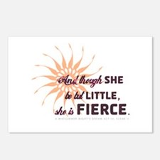 She is Fierce - Grunge Postcards (Package of 8)
