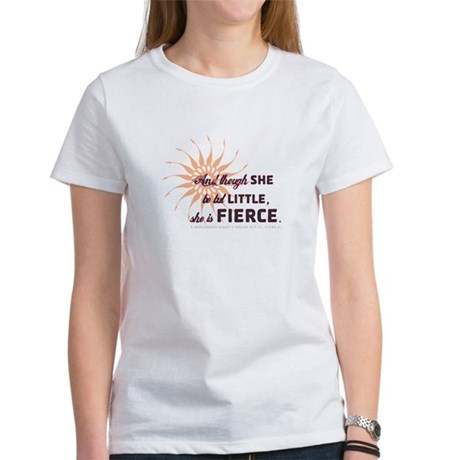 She is Fierce - Grunge Women's T-Shirt