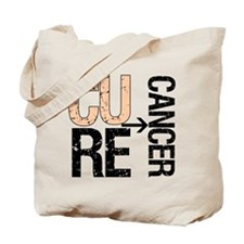 Cure (Uterine) Cancer Tote Bag