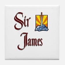 Sir James Tile Coaster