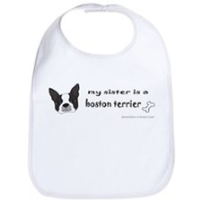 boston terrier gifts Bib