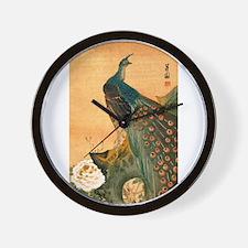Funny Asian art Wall Clock