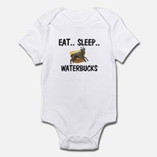 Eat ... Sleep ... WATERBUCKS Infant Bodysuit