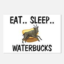 Eat ... Sleep ... WATERBUCKS Postcards (Package of