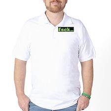 fsck Green T-Shirt