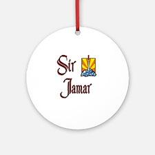 Sir Jamar Ornament (Round)