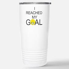 Reached My Goal Travel Mug