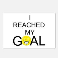 Reached My Goal Postcards (Package of 8)