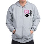 Cure (Breast) Cancer Zip Hoodie