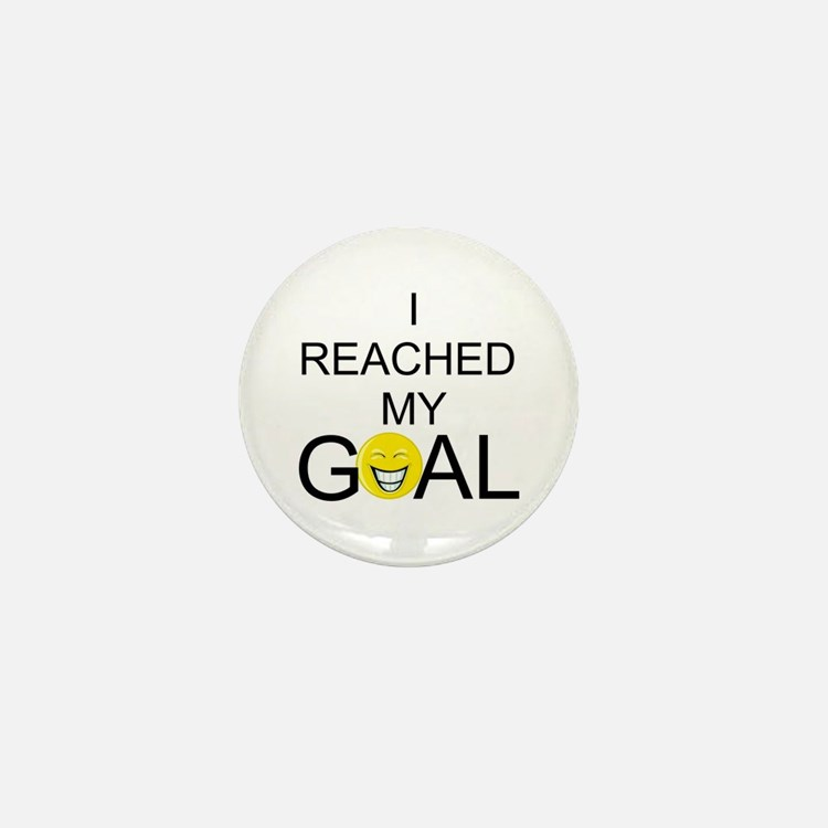 Reached My Goal Mini Button