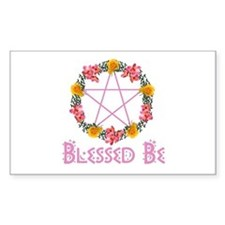 Blessed Be Rectangle Decal