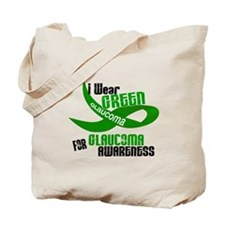 I Wear Green 33 (Glaucoma Awareness) Tote Bag