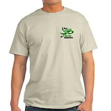 I Wear Green 33 (Glaucoma Awareness) T-Shirt