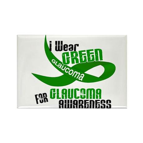 I Wear Green 33 (Glaucoma Awareness) Rectangle Mag
