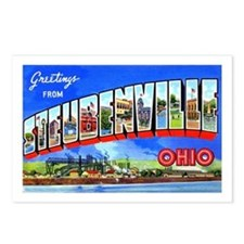 Steubenville Ohio Greetings Postcards (Package of