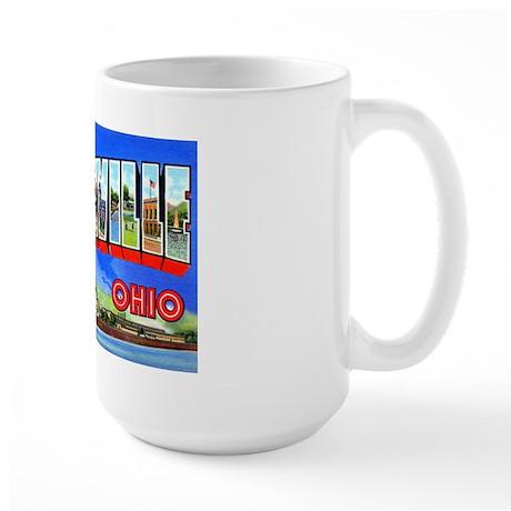 Steubenville Ohio Greetings Large Mug