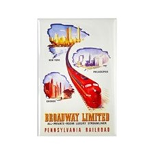 Broadway Limited PRR Rectangle Magnet
