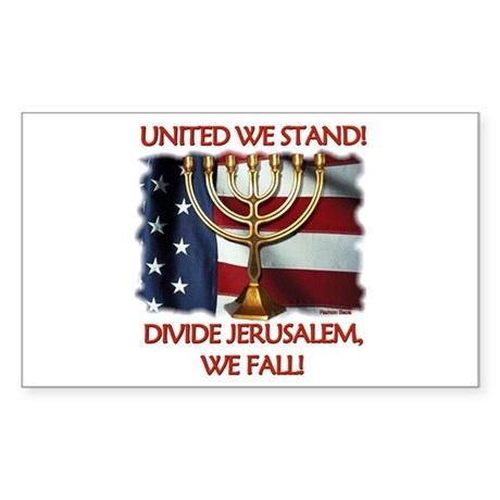United We Stand! Rectangle Sticker