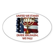 United We Stand! Oval Decal