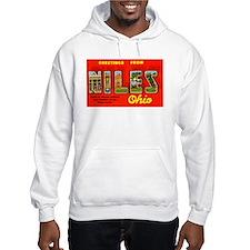 Niles Ohio Greetings Hoodie