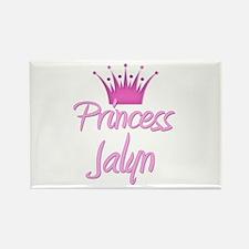 Princess Jalyn Rectangle Magnet