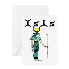 House of Isis Greeting Card