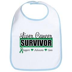 Liver Cancer Survivor Bib