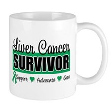 Liver Cancer Survivor Small Mugs