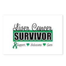 Liver Cancer Survivor Postcards (Package of 8)