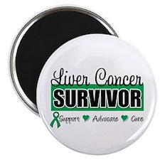 Liver Cancer Survivor Magnet