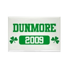 St Patricks Day Dunmore Rectangle Magnet