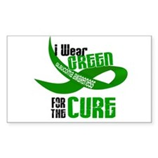 I Wear Green 33 (Glaucoma Cure) Decal