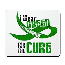 I Wear Green 33 (Glaucoma Cure) Mousepad