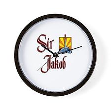 Sir Jakob Wall Clock