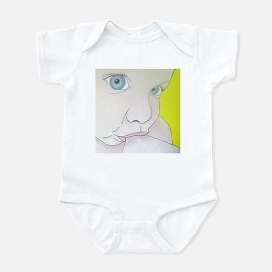 blue eyes Infant Bodysuit