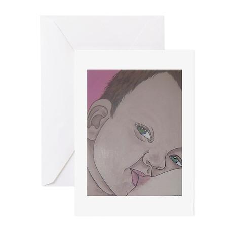 toddler nursing Greeting Cards (Pk of 10)