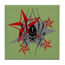 Spider Skull Tile Coaster