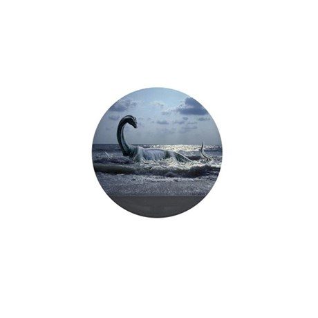Sea Serpent ~ Mini Button