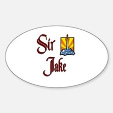 Sir Jake Oval Decal
